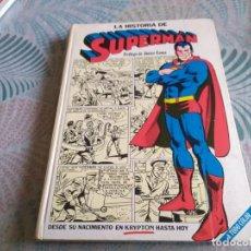 Tebeos: LA HISTORIA DE SUPERMAN. EDITORIAL E.NOVARO 1979. 192 PÁGINAS. Lote 258257020
