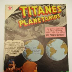 Tebeos: TITANES PLANETARIOS (1953, ER / NOVARO) 67 · V-1959 · TITANES PLANETARIOS. Lote 258496635