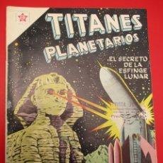 Tebeos: TITANES PLANETARIOS (1953, ER / NOVARO) 70 · VIII-1959 · TITANES PLANETARIOS. Lote 258498135