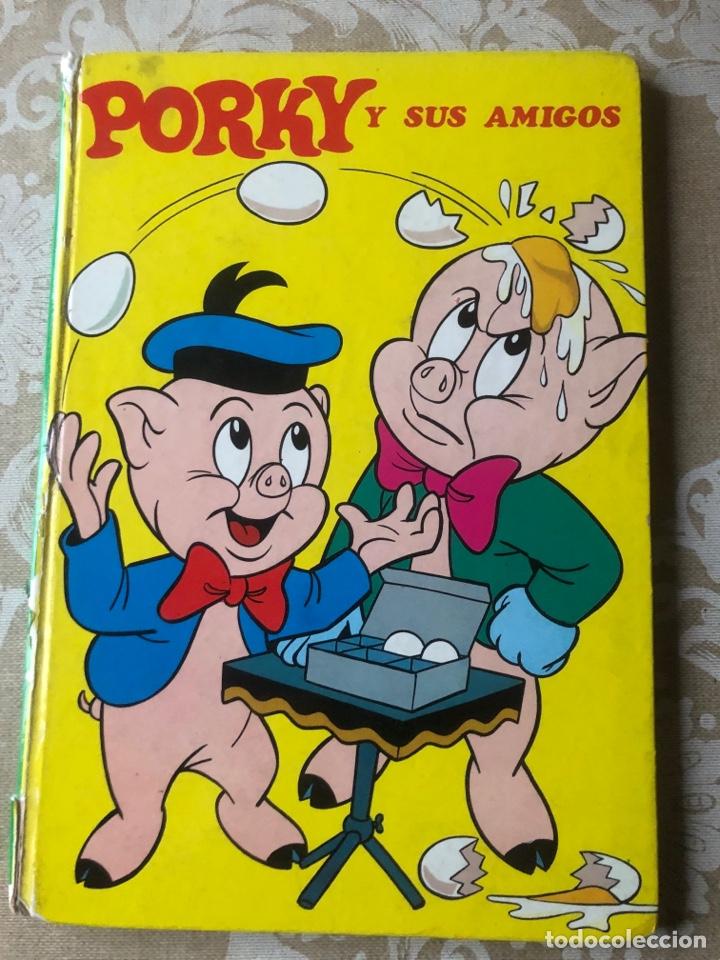 PORKY Y SUS AMIGOS LAIDA 1972 TAPA DURA (Tebeos y Comics - Novaro - Porky)
