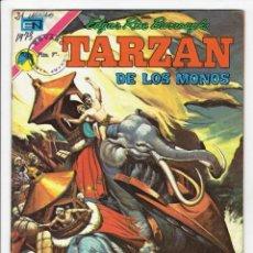 Tebeos: TARZAN DE LOS MONOS Nº 329 - NOVARO 1973 ''BUEN ESTADO''. Lote 259727875