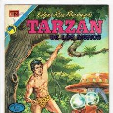 Tebeos: TARZAN DE LOS MONOS Nº 334 - NOVARO 1973 ''BUEN ESTADO''. Lote 259727885