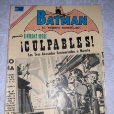 Tebeos: BATMAN N° 618, NOVARO 1972, LINTERNA VERDE. Lote 260749265