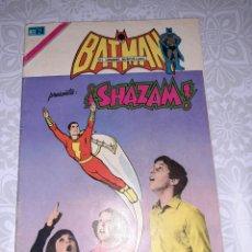 Tebeos: BATMAN N° 731, NOVARO 1974, SHAZAM. Lote 260750295