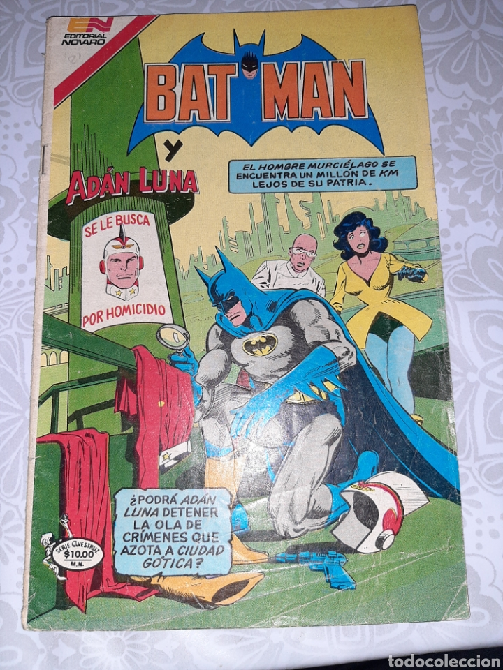 BATMAN NOVARO, SERIE AVEZTRUZ N° 3 -21, 1982 (Tebeos y Comics - Novaro - Batman)