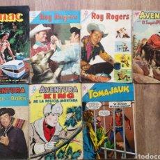 Tebeos: COMICS OESTE AÑOS 60, ROY ROGERS, AVENTURA, TOMAJAUK, TUMAC. Lote 260849580
