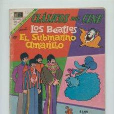 Tebeos: CLÁSICOS DEL CINE - LOS BEATLES - EL SUBMARINO AMARILLO - ED. NOVARO - 1968. Lote 261338200