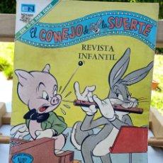 Tebeos: EL CONEJO DE LA SUERTE Nº 359 BUGS BUNNY EDITORIAL NOVARO 29 MARZO DE 1971 7 PESETAS.. Lote 261602815