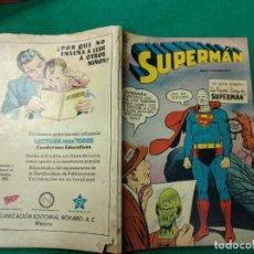 Tebeos: SUPERMAN. LA NUEVA CARA DE SUPERMAN. NUMERO EXTRAORDINARIO 1º DE SEPT. DE 1959. ED. NOVARO. Lote 261683250