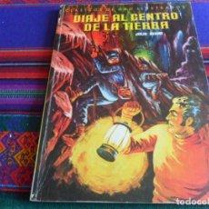 Tebeos: CLÁSICOS DE ORO ILUSTRADOS Nº 13 VIAJE AL CENTRO DE LA TIERRA. NOVARO 1980. RÚSTICA. BUEN ESTADO.. Lote 261958975