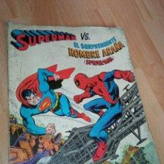 Tebeos: ALBUM NOVARO 'SUPERMAN-SPIDERMAN'. Lote 261977245