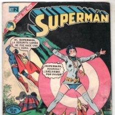 Tebeos: 1973 SUPERMAN # 912 NOVARO UNA HISTORIETA CLASICA NEAL ADAMS LOS CRIMENES DEL SIGLO BUEN ESTADO. Lote 262010325