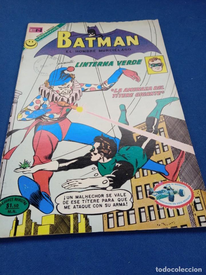 BATMAN 642 NOVARO. BUEN ESTADO. MUY DIFÍCIL. (Tebeos y Comics - Novaro - Batman)