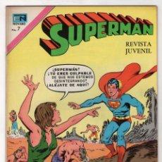 Tebeos: SUPERMAN. EL ENEMIGO MORTAL. LOS HABITANTES DE COLINA POBRE. Nº 889 29 DE DICIEMBRE 1972. Lote 262523715