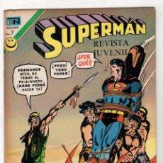 Tebeos: SUPERMAN. ESTE REHEN DEBE MORIR. Nº 881. 11 DE OCTUBRE DE 1972. Lote 262525625