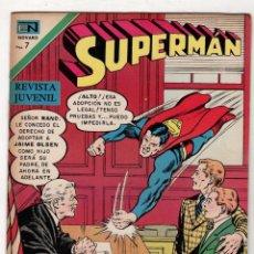 Tebeos: SUPERMAN. JAIME EL HUERFANO. Nº 839. 15 DE DICIEMBRE DE 1971. Lote 262525865