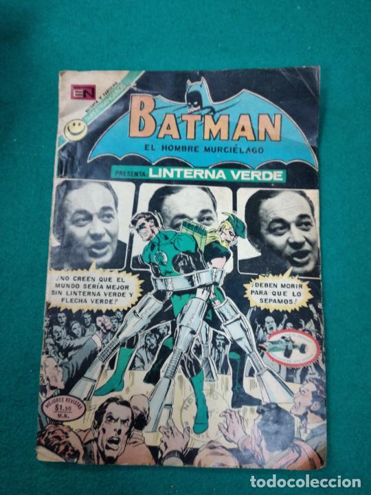 BATMAN Nº 636. LINTERNA VERDE. EDITORIAL NOVARO, 29 JUNIO 1972 (Tebeos y Comics - Novaro - Batman)