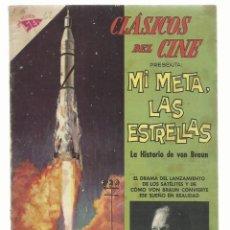 Tebeos: CLÁSICOS DEL CINE 62: MI META, LAS ESTRELLAS, 1962, NOVARO, BUEN ESTADO. COLECCIÓN A.T.. Lote 262718000