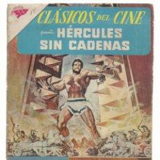 Tebeos: CLÁSICOS DEL CINE 58: HÉRCULES SIN CADENAS, 1961, SEA, BUEN ESTADO. COLECCIÓN A.T.. Lote 262718740