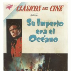 Tebeos: CLÁSICOS DEL CINE 54: SU IMPERIO ERA EL OCÉANO, 1961, SEA, MUY BUEN ESTADO. COLECCIÓN A.T.. Lote 262719245