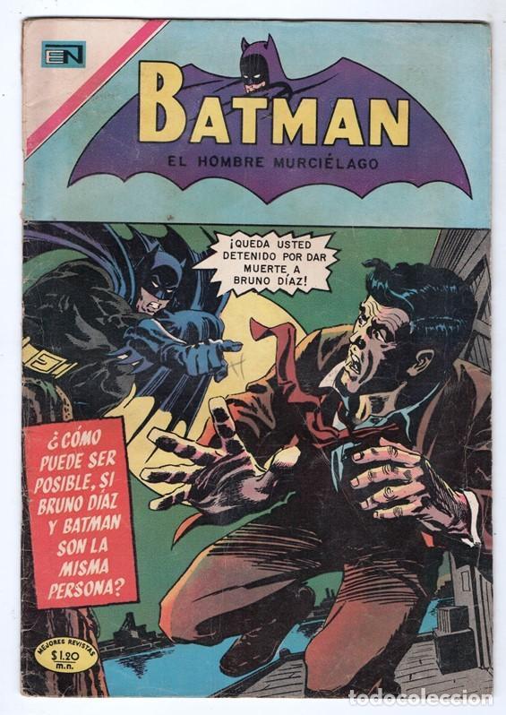 1970 BATMAN # 526 NOVARO FRANK ROBBINS BOB BROWN JOE GIELLA ROSS ANDRU MIKE ESPOSITO MUY BUEN ESTADO (Tebeos y Comics - Novaro - Batman)