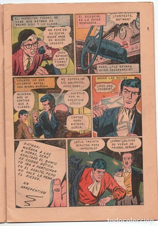 Tebeos: 1970 BATMAN # 526 NOVARO FRANK ROBBINS BOB BROWN JOE GIELLA ROSS ANDRU MIKE ESPOSITO MUY BUEN ESTADO - Foto 4 - 262901890