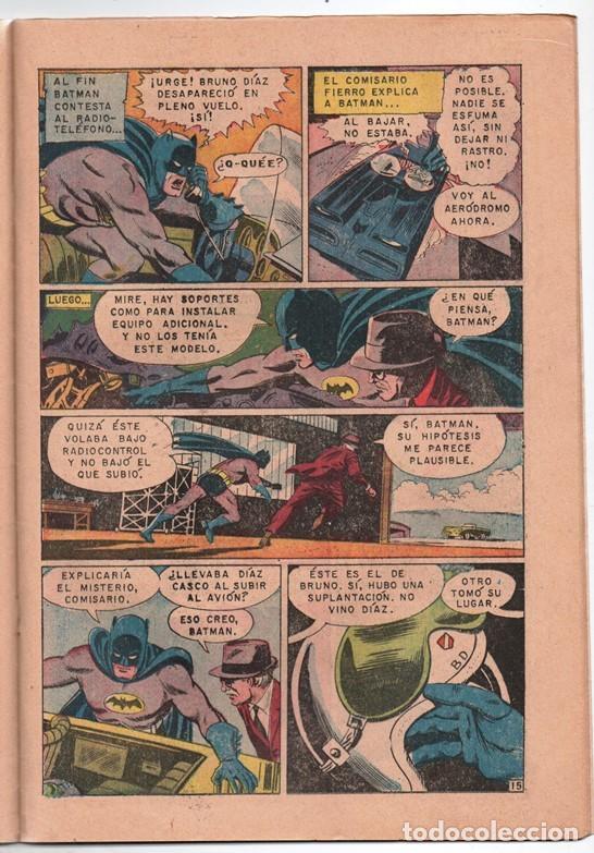 Tebeos: 1970 BATMAN # 526 NOVARO FRANK ROBBINS BOB BROWN JOE GIELLA ROSS ANDRU MIKE ESPOSITO MUY BUEN ESTADO - Foto 5 - 262901890