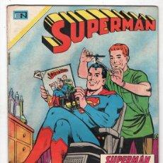Tebeos: 1970 SUPERMAN # 739 NOVARO NEAL ADAMS CUBIERTA JIMMY OLSEN ABRAHAM LINCOLN BUEN ESTADO. Lote 262903815
