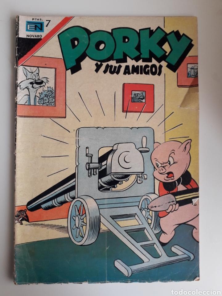PORKY Y SUS AMIGOS. NUM 196. ED NOVARO (Tebeos y Comics - Novaro - Porky)