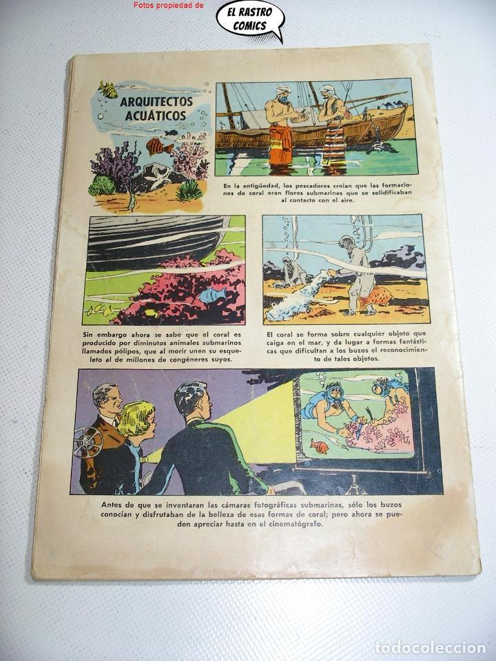 Tebeos: Domingos alegres nº 351, El investigador submarino, ed. Novaro año 1960, ER, 6F - Foto 2 - 263067490