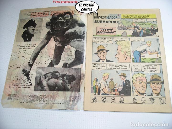 Tebeos: Domingos alegres nº 351, El investigador submarino, ed. Novaro año 1960, ER, 6F - Foto 3 - 263067490