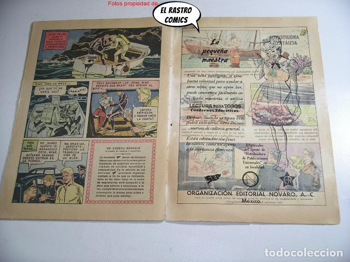 Tebeos: Domingos alegres nº 351, El investigador submarino, ed. Novaro año 1960, ER, 6F - Foto 4 - 263067490