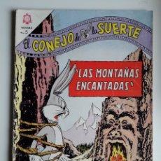 Tebeos: EL CONEJO DE LA SUERTE. NUM 195. ED NOVARO. Lote 263071225