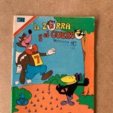 Tebeos: COMIC DE NOVARO COLECCION AGUILA, LA ZORRA Y EL CUERVO. TIENE SELLO MARCADO CON NOVARO. Lote 263141670