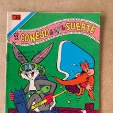 Tebeos: COMIC DE NOVARO COLECCION AGUILA, EL CONEJO DE LA SUERTE. TIENE SELLO MARCADO CON NOVARO. Lote 263143500