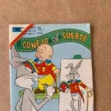 Tebeos: COMIC DE NOVARO COLECCION AGUILA, EL CONEJO DE LA SUERTE. TIENE SELLO MARCADO CON NOVARO. Lote 263143580