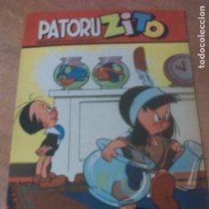 Tebeos: PATORUZITO 1952 DANTE QUINTERNO, TIPO NOVARO, OFERTON. Lote 263193355