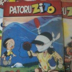 Tebeos: PATORUZITO 1952 DANTE QUINTERNO, TIPO NOVARO, OFERTON. Lote 263194160