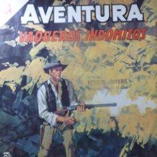 Livros de Banda Desenhada: COMIC AVENTURA VAQUEROS INDOMITOS Nº 392 1965 DE NOVARO. Lote 263239960