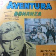 Livros de Banda Desenhada: COMIC AVENTURA BONANZA Nº 393 1965 DE NOVARO. Lote 263241345