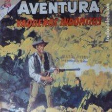 Livros de Banda Desenhada: COMIC AVENTURA VAQUEROS INDOMITOS Nº 392 1965 DE NOVARO. Lote 263241760
