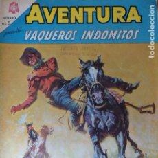 Tebeos: COMIC AVENTURA VAQUEROS INDOMITOS Nº 378 1965 DE NOVARO. Lote 263241930