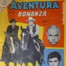 Tebeos: COMIC AVENTURA BONANZA Nº 381 1965 DE NOVARO. Lote 263243135