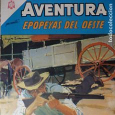 Tebeos: COMIC AVENTURA EPOPEYAS DEL OESTE Nº 398 1965 DE NOVARO. Lote 263245295