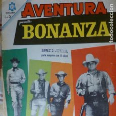 Livros de Banda Desenhada: COMIC AVENTURA BONANZA Nº 377 1965 DE NOVARO. Lote 276777343