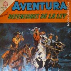 Tebeos: COMIC AVENTURA DEFENSORES DE LA LEY Nº 409 1965 DE NOVARO. Lote 263246145