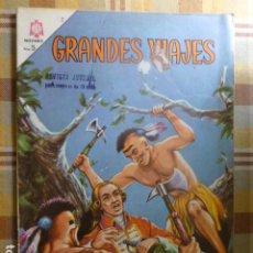 Tebeos: COMIC GRANDES VIAJES BOUGAINVILLE Nº 27 1965 DE NOVARO. Lote 263246880