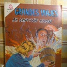 Tebeos: COMIC GRANDES VIAJES EL CAPITAN COOK Nº 32 1965 DE NOVARO. Lote 263247115