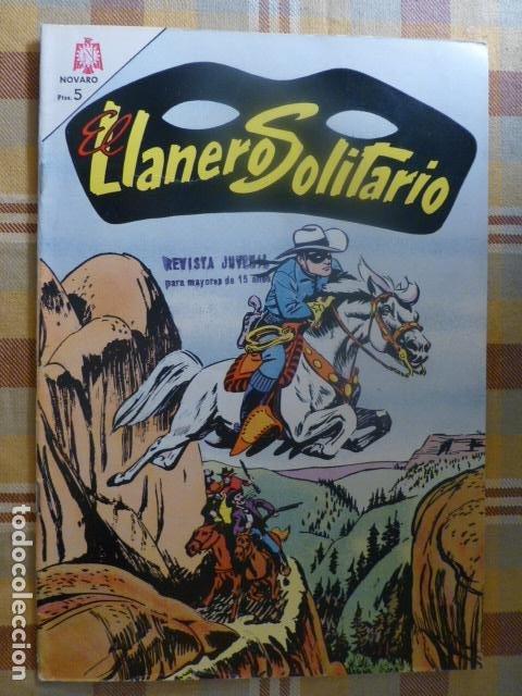 COMIC EL LLANERO SOLITARIO Nº 142 1965 DE NOVARO (Tebeos y Comics - Novaro - El Llanero Solitario)