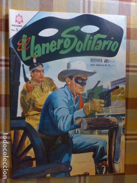 COMIC EL LLANERO SOLITARIO Nº 154 1966 DE NOVARO (Tebeos y Comics - Novaro - El Llanero Solitario)